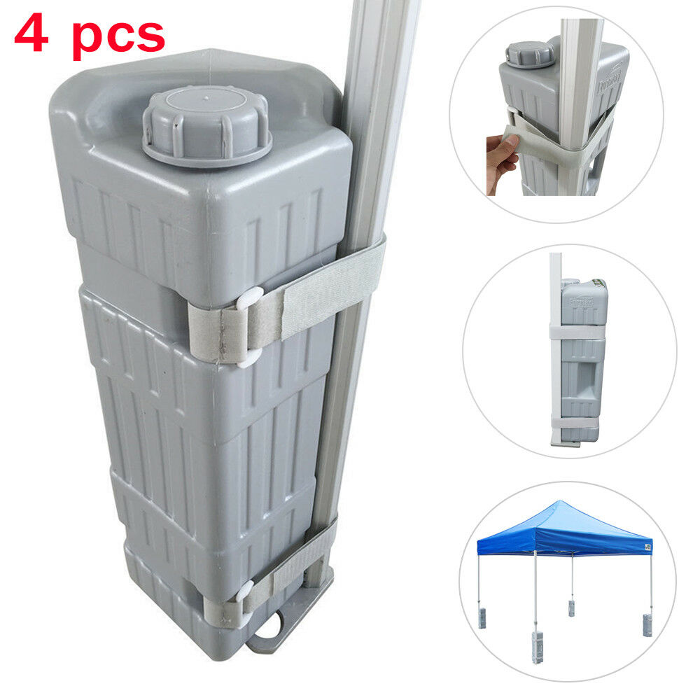 4Pcs Bottle Weight Feet For Outdoor Pop Up Canopy Instant Gazebo Tent Shelter