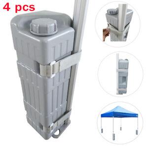 ???? ???????? ??????????? 4Pc-Deluxe-Ez-Pop-Up  sc 1 st  eBay & 4Pc Deluxe Bottle Weight Leg Feet Ez Pop Up Canopy Outdoor Instant ...