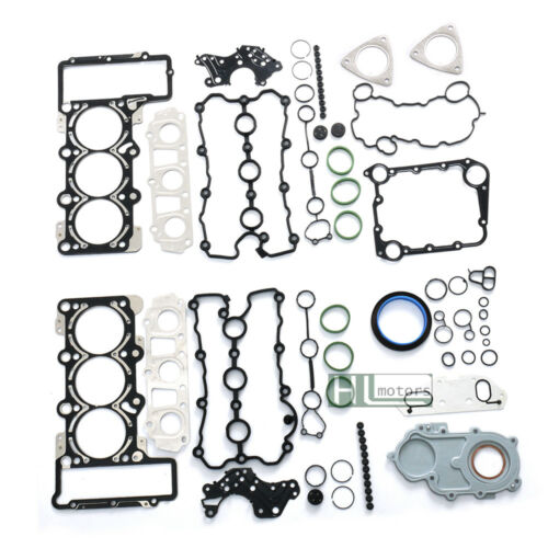 Cylinder Head Repair Kit Manifold Gaskets Oil Seals Set for Audi A4 A6 A8 3.2L