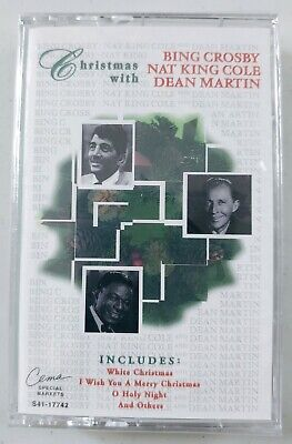 Christmas with Bing Crosby, Nat King Cole & Dean Martin - Holiday Music Cassette 724381774243 | eBay