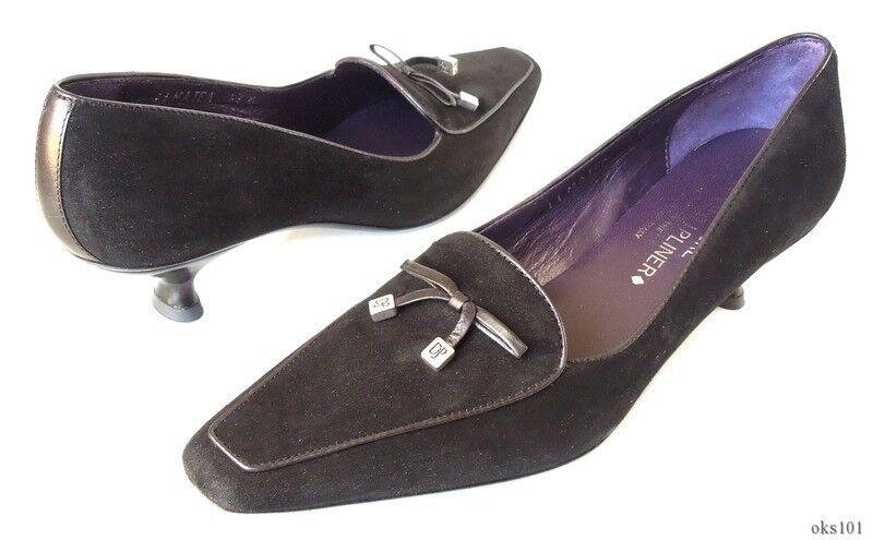 new DONALD J PLINER 'Matea' schwarz suede classic Schuhes  5.5 very comfortable