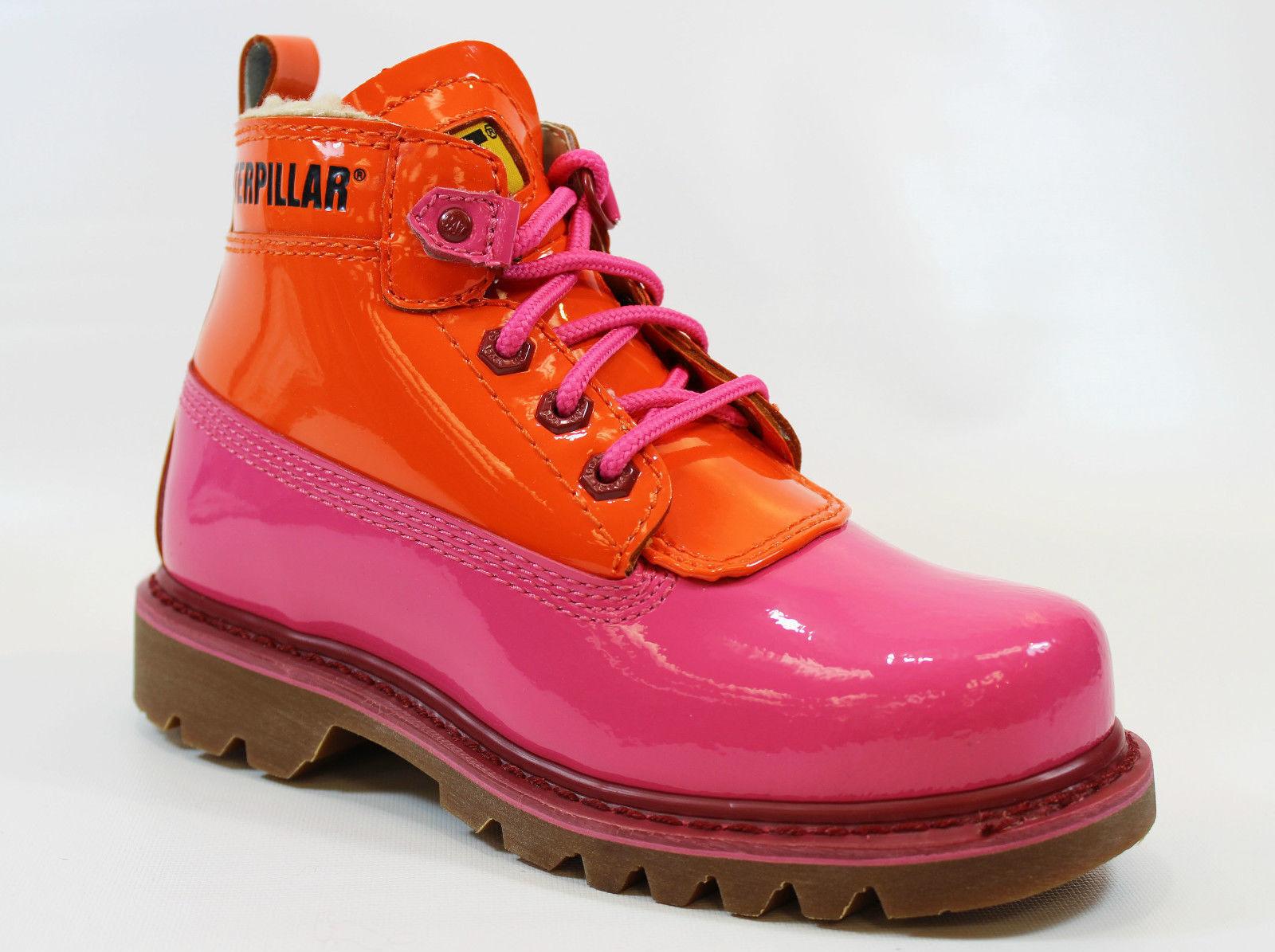 "New Womens CATERPILLAR Alex- ""Martin Rose"" ankle Boot in Pink/Orange Size 7 178K"