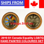 2019-Canada-Equality-LGBTQ-Hand-Coloured-Enameled-amp-Regular-1-Loonie-Pride-LGBT thumbnail 1