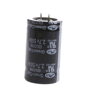 Details about 2 7V 500F 35*60MM Farad Capacitor Super Capacitor 1PC