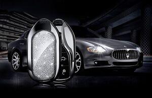 Image Is Loading CRYSTAL INSERT Maserati Quattroporte  Ghibli Levante Key Shell