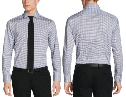 NWT Hugo Boss Black by Hugo Boss Sharp Fit Check Pattern Dress Shirt