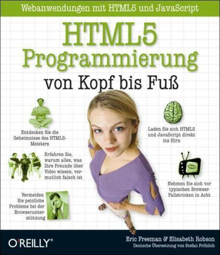 1 von 1 - HTML5-Programmierung von Kopf bis Fuß: Webanwendungen mit HTML5 und JavaScript …