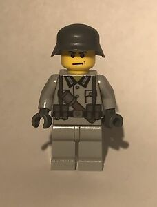 Details about Custom Printed LEGO WW2 German Soldier