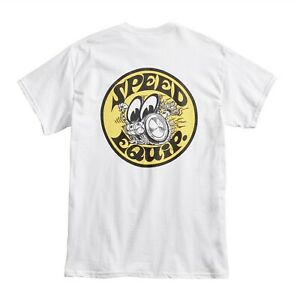 Mooneyes Speed Equip Men's T Shirt (Small) Hot Rod Kustom VW Bug Ford Moon Bus