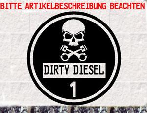 schwarze feinstaubplakette dirty diesel fun umweltplakette. Black Bedroom Furniture Sets. Home Design Ideas