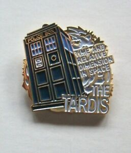 Doctor-Who-Tardis-034-Dimension-In-Space-034-Enamel-Pin-New