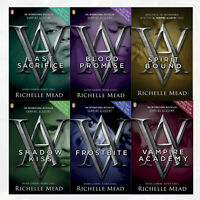 Richelle Mead Vampire Academy Horror & Ghost Stories Set 6Books Puffin Paperback