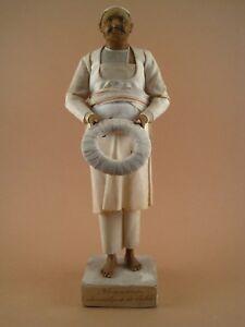 Statue-Santon-Sujet-Terre-Cuite-Polychrome-ECOLE-ORIENTALISTE-fin-XIX-Domestique