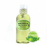 Pure Refined Sunflower Oil Organic Cold Pressed 2 Oz 4 Oz-up To 1 Gallon