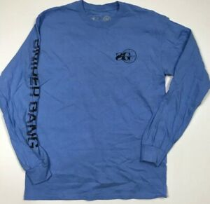 2445422eb Details about Sniper Gang Apparel Men's Logo Long Sleeve Tee Rare Medium  Nice By Kodak Black