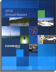 Eversource (Northeast Utilities) 2016 Annual Report - Good ...