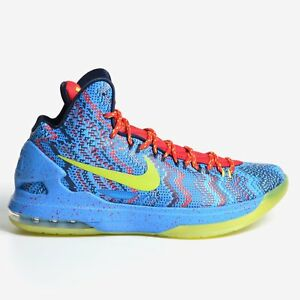 huge discount 003f8 3810e Image is loading Nike-Zoom-KD-5-V-Christmas-2012-X-