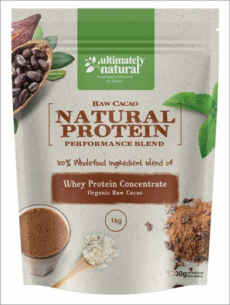 Cacao Natural Protein Powder Whey Concentrate Blend Chocolate Gluten Free Shake