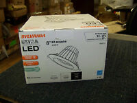 Sylvania Ultra 8 Recessed Kit Led 32w Cfl Using Only 27w 4000k 120/277v
