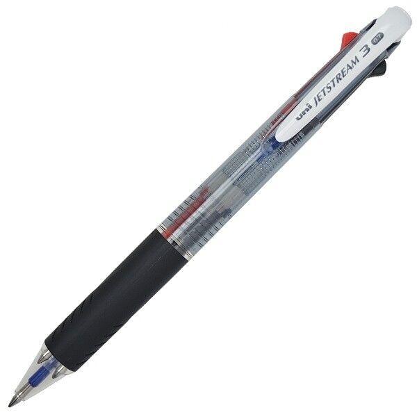 Uni-Ball Jetstream 3 Farbe  '3 Farben in 1'Kugelschreiber 0.7mm - SXE3-400-07   Flagship-Store    Schön und charmant    Klein und fein