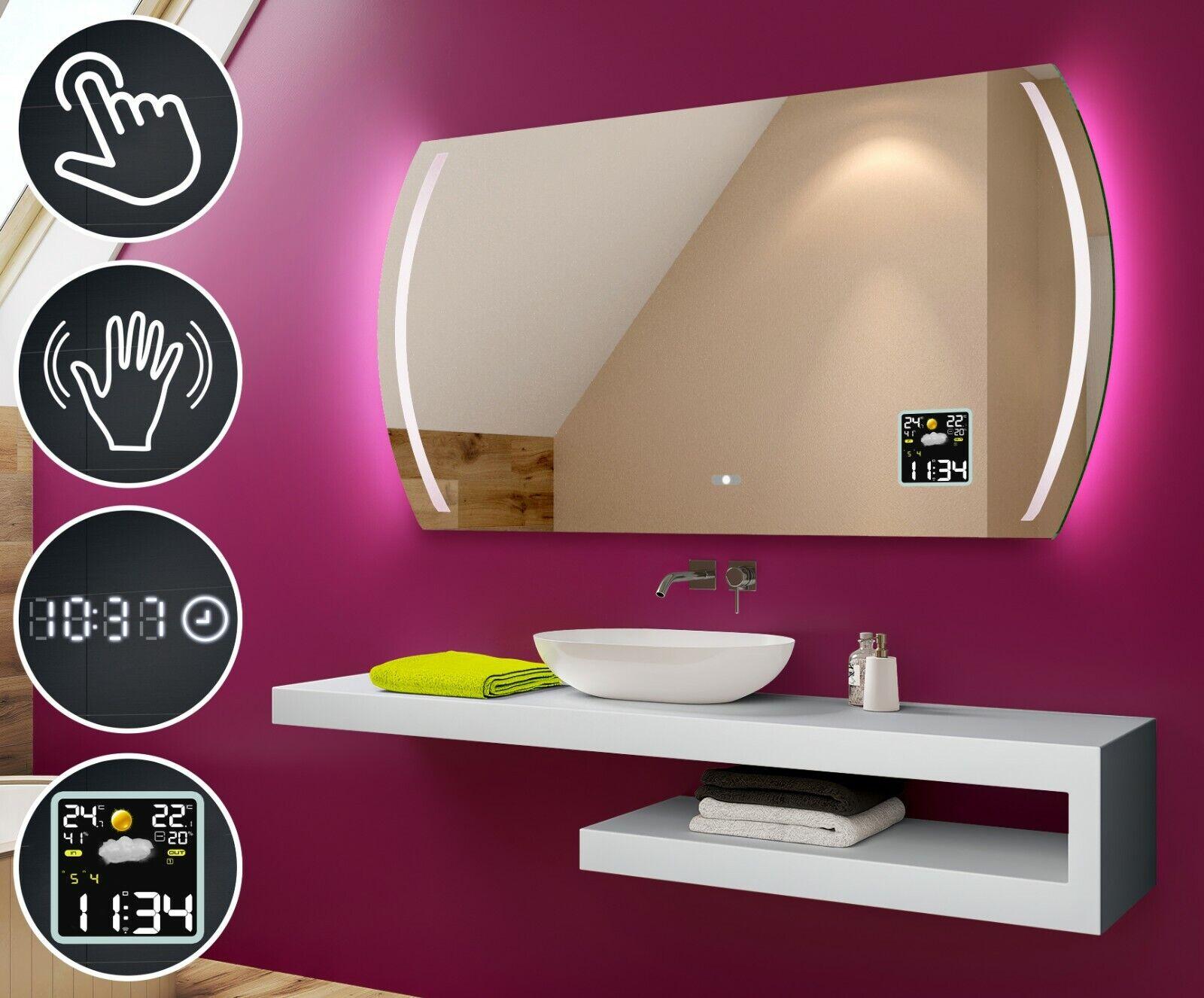 LED Illuminated Bathroom Mirror   L67   Switch   Accessories   Blautooth Speaker