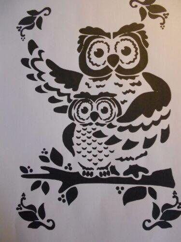 """Galería de símbolos /""""búhos 2/"""" en a4"""
