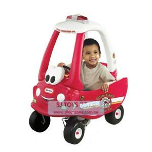 Little-Tikes-Fire-Ride-N-Rescue-Ride-On-Cozy-Coupe-Kids-Outdoor-Activity-Car