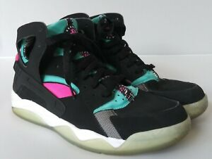 reputable site 991e5 d509d Image is loading Nike-Air-Flight-Huarache-Mens-Sz-8-Black-