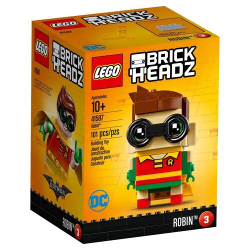 LEGO® Brick Headz: Robin™  Building Play Set 41587 NEW NIB