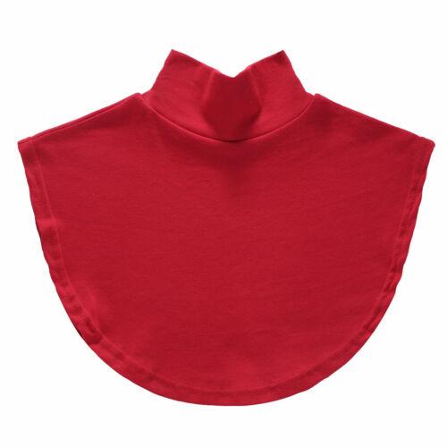 Unisex Detachable Autumn Winter Dickey Collar Fake Turtleneck False Mock Blouse