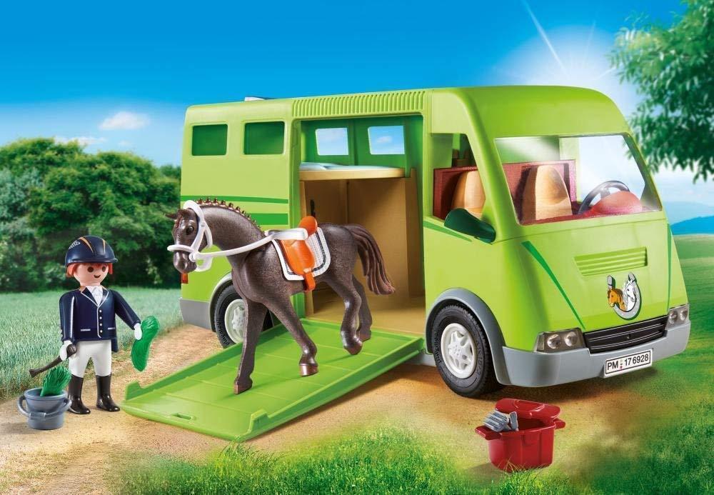 Playmobil 6928 - Horse Transporter Country Horse Farm