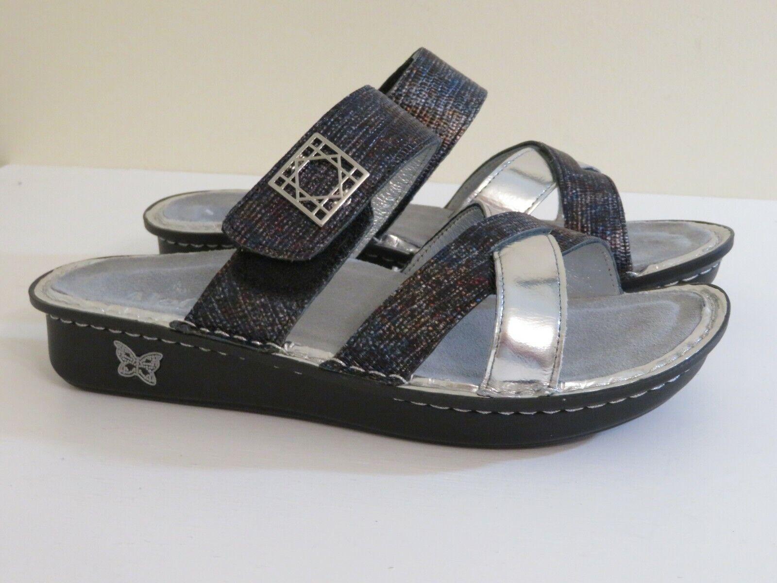 hermoso Correa de de de Cuero Alegria Multi Diapositiva Sandalias Zapatos victoriah nuevo 36 37  Envio gratis en todas las ordenes