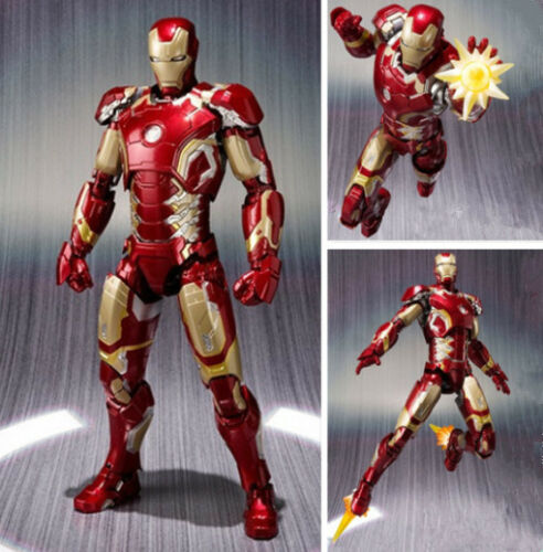 S.H.Figuarts Iron Man Mark 43 Marvel Avengers Age of Ultron Figure Toy No Box