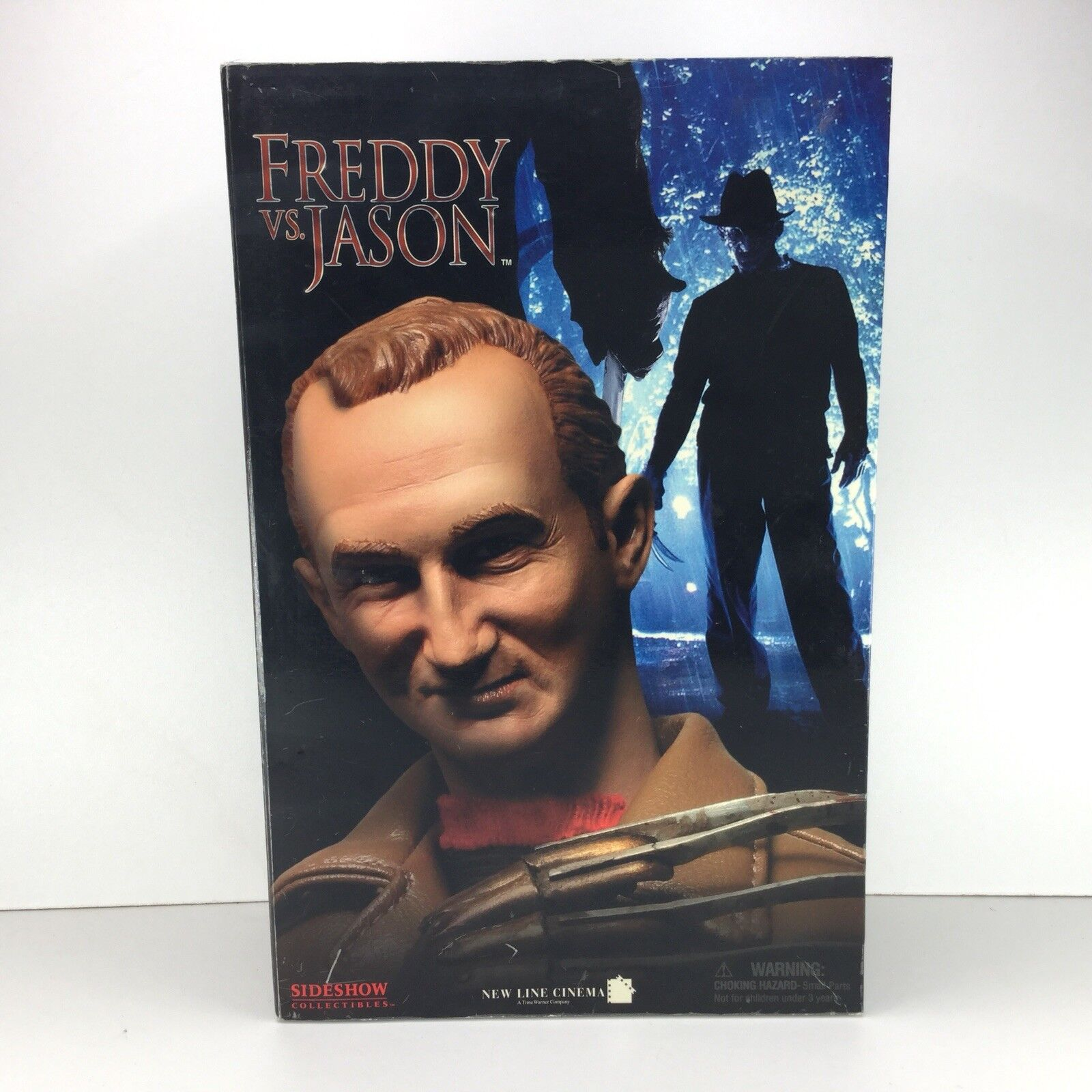 Sideshow Frotdy Vs Jason Frotdy Krueger Action Figure CIB Horror Wes Craven