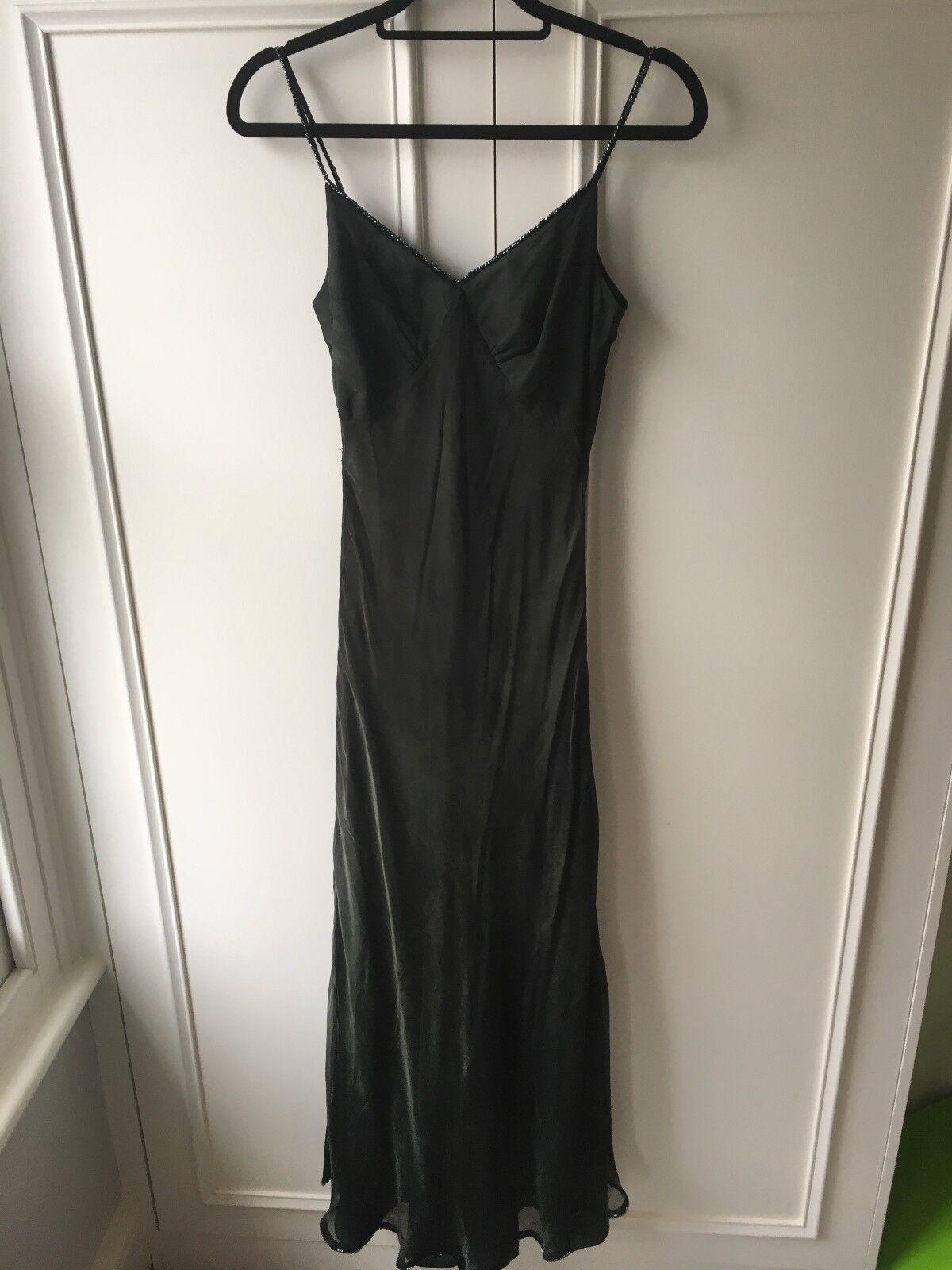 Ronit Zilkha long green dress, Size 12