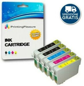 Multipack-T0715-5-Cartucce-Compatibili-per-Epson-SX200-SX205-SX215-DX4000-SX415