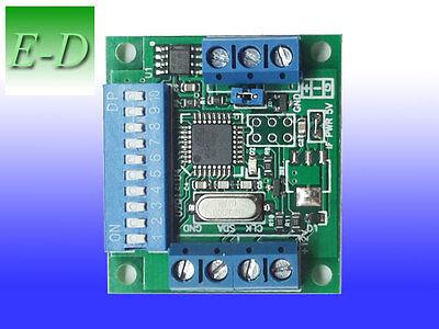 DMX to SPI decoder for APA102 led strip, DMX to APA 102 full color driver
