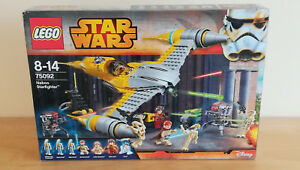 Rationnel Lego Star Wars 75092 Naboo Starfighter-neuf-épisode 1-afficher Le Titre D'origine
