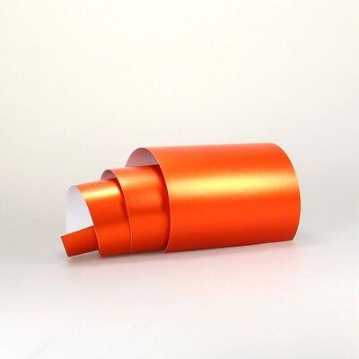 (13,16€/m²) Chrom Matt Autofolie BLASENFREI 3D Flex Auto Folie Perlmutt Effect