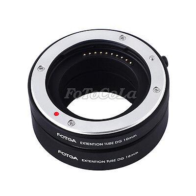 FOTGA automatic macro extension tube DG set 10mm 16mm f Sony E mount NEX-7 5N F3
