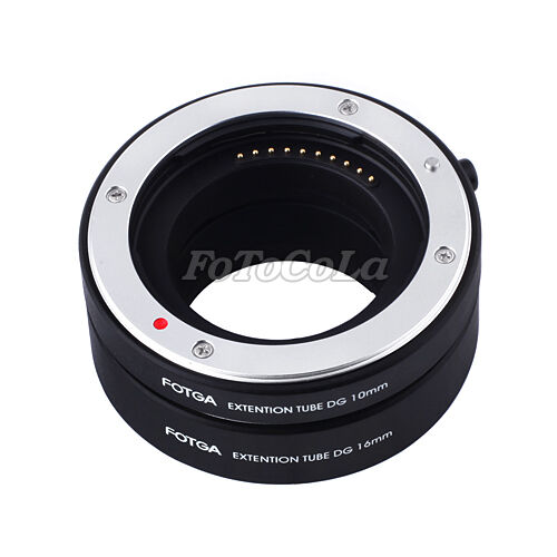 FOTGA auto focus AF macro extension tube DG set 10mm 16mm for Sony NEX E mount