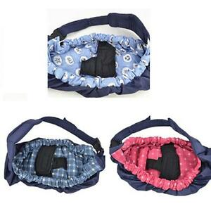 Baby Infant Swaddling Sling Wrap Sleeping Carrier Strap Front Soft Papoose Bag