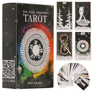 The-Wild-Unknown-Tarot-Deck-Cards-Rider-Waite-Oracle-Card-Future-Fate-Fun-Gifts