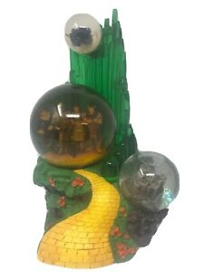 Wizard-Of-Oz-Triple-Snow-Globe-Westland-1820-Music-Box-For-Parts-Not-Working