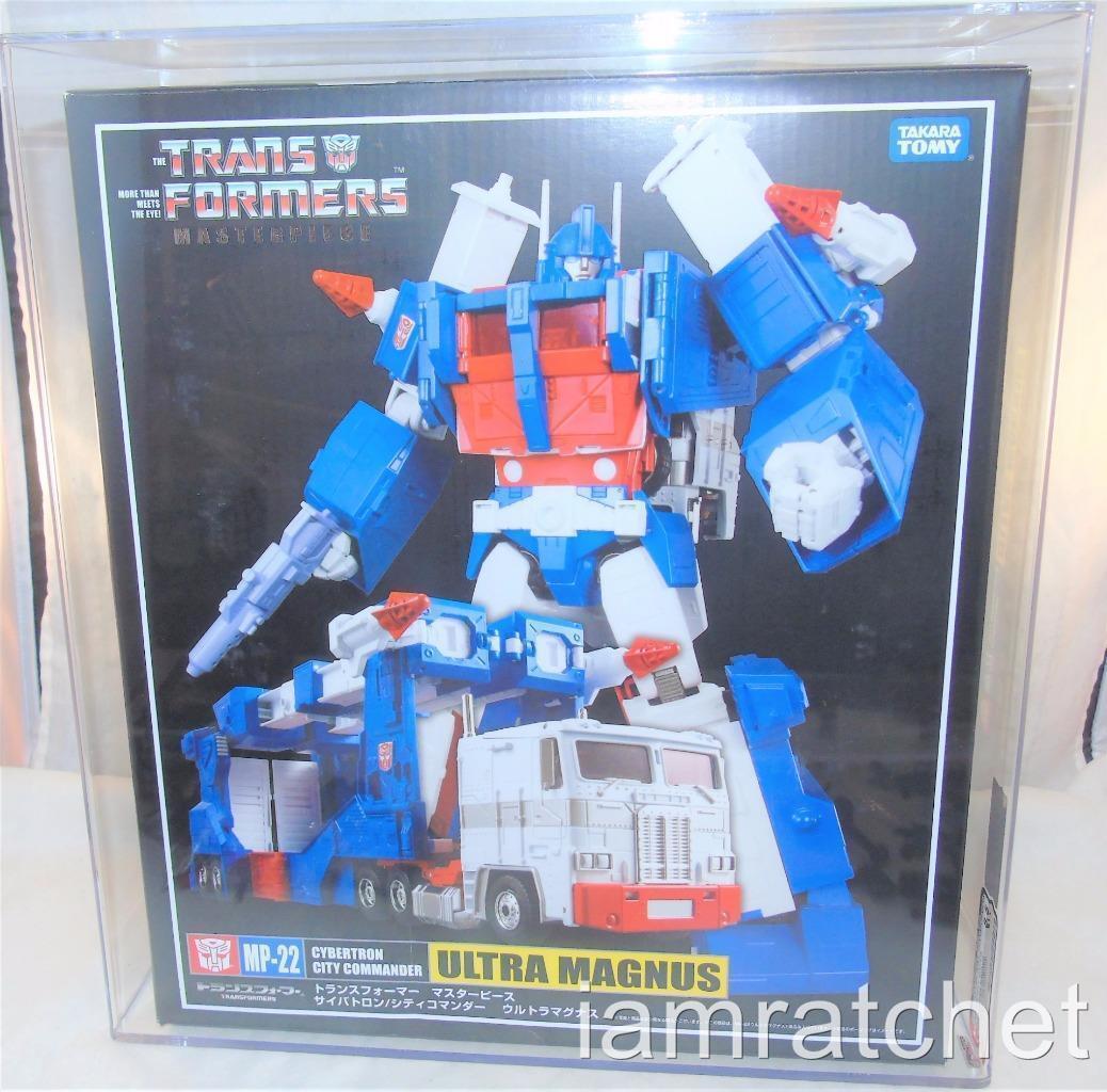 Transformers Masterpiece MP-22 AFA 8.5 Ultra Magnus y en caja sellada Sellado