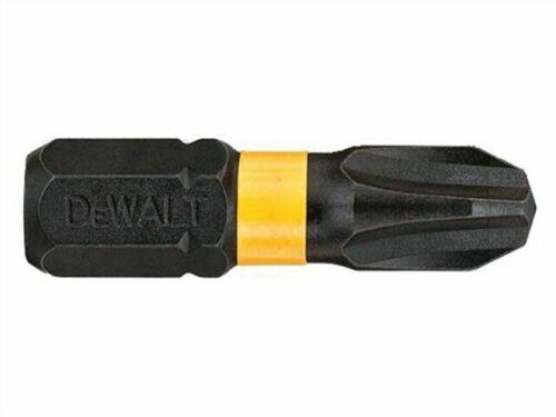 Pack of 5 Dewalt DT7999TQZ 50 mm PH3 IR Torsion Bits