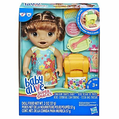 Baby Alive Snackin Shapes Baby African American Doll