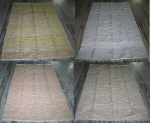 Antiquitäten & Kunst Menge Indisch Handmade Chindi Zari Teppiche Handgewebt Rag Recycelt Bodenmatte Punctual Timing