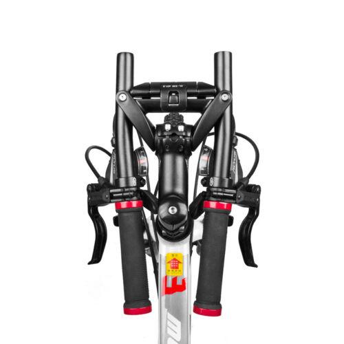 600 mm crease in 136mm Aluminium Bicycle Folding Handlebar Comfort Black