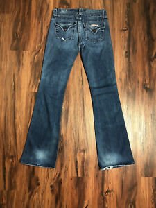 Bootcut Dark Jeans Flap Wash Hudson Gratis 27 Blue Denim Gave Pocket STnAOq